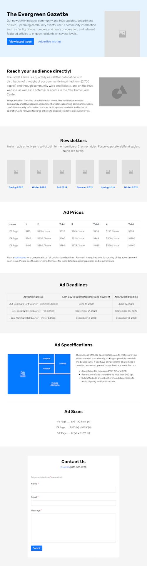 newsletter-advertising
